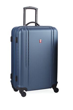 fresh maleta de viaje azul gladiator gridd