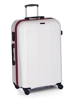 maleta de viaje barata barcelona blanca gridd