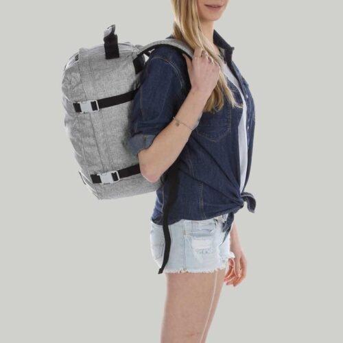 comprar mochila cabinzero classic 28L gris 5