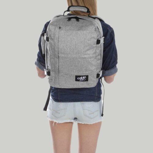 comprar mochila cabinzero classic 28L gris 6